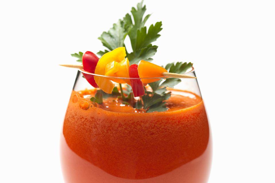 Red Pepper Sangrita Margarita - Tequila Cocktail Recipe