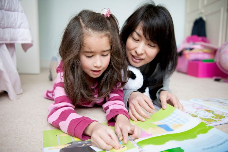 A simple sticker chart can motivate your child.