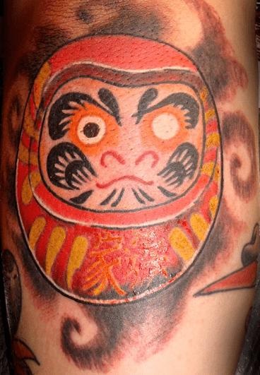 Tatuajes de Daruma. Significado e historia