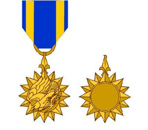 Air Medal design