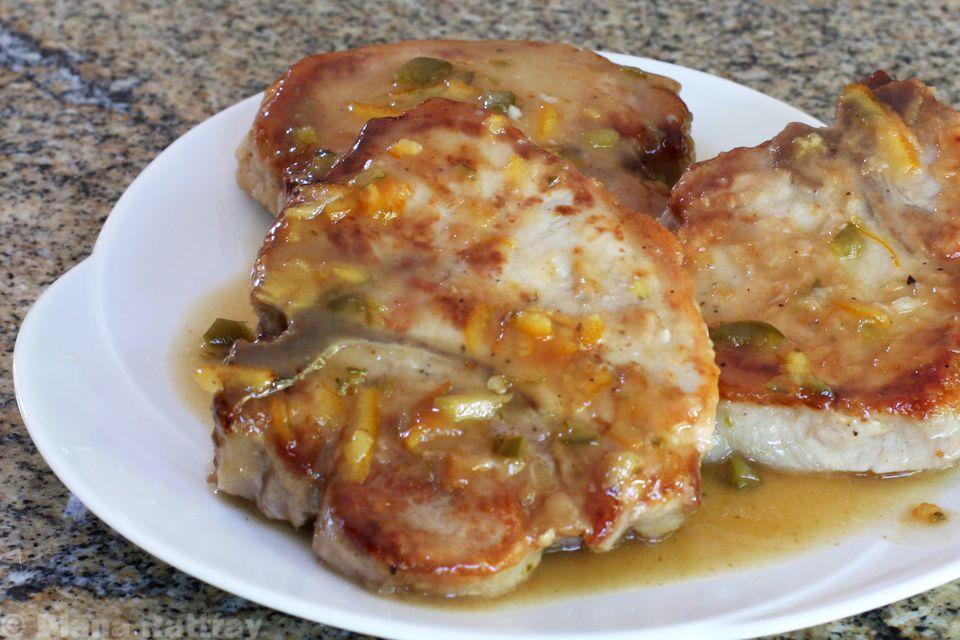 Easy Skillet Pork Chops With Marmalade