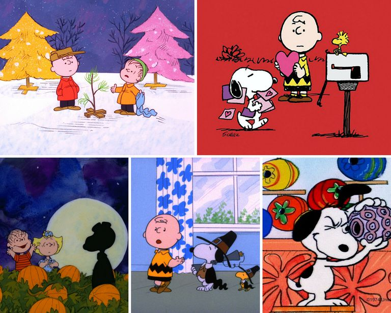 Charlie Brown Cartoons