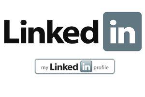 LinkedIn Logo and My LinkedIn profile Button