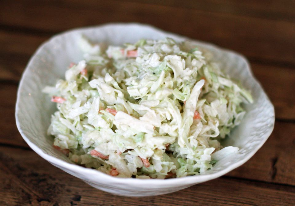 Coleslaw With Creamy Homemade Dressing