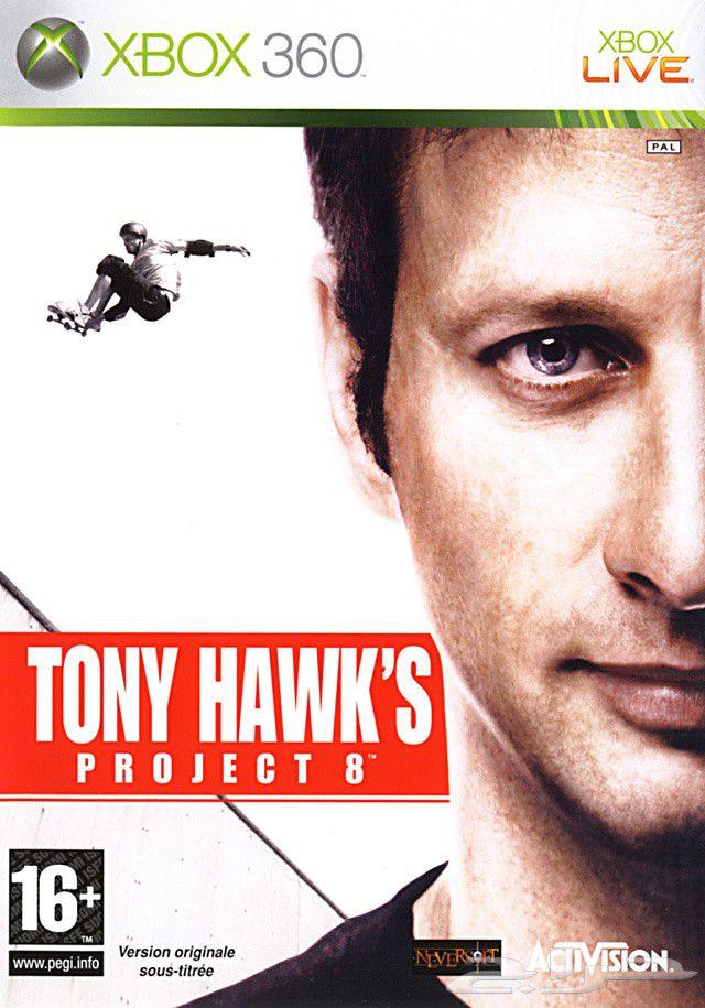 Tony Hawk's Project 8 Xbox 360 box shot