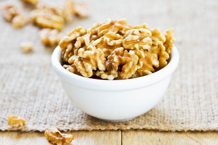 Walnuts are high in omega-3 fatty acids.