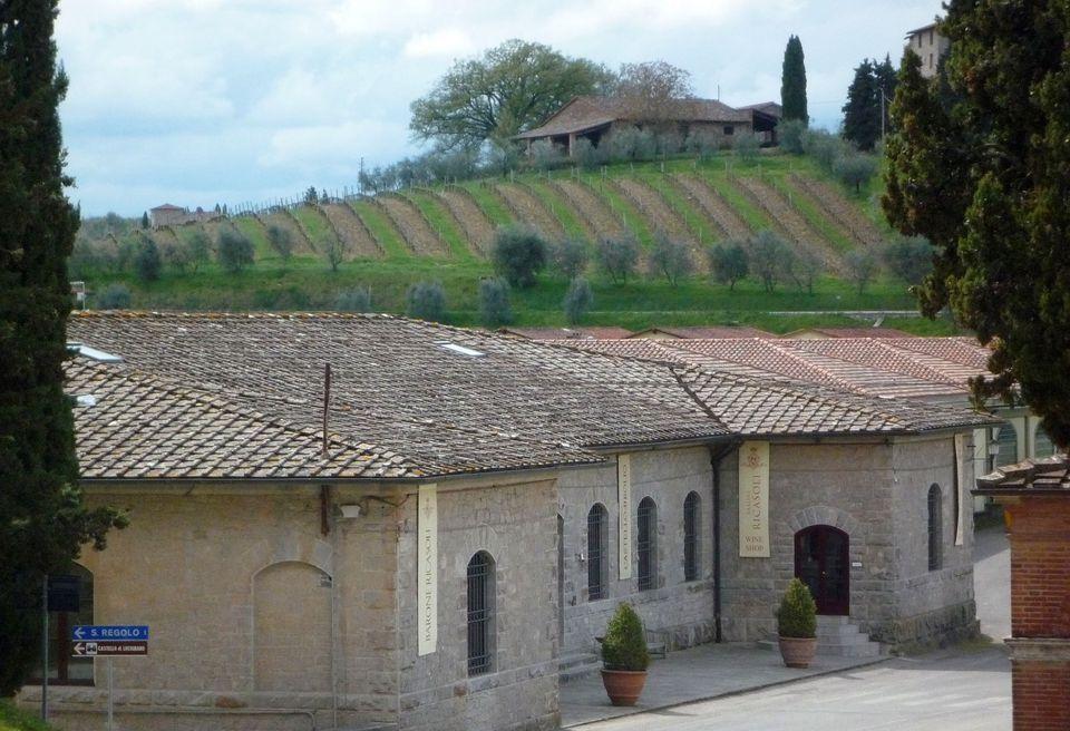 Tuscany Winery Of Barone Ricasoli And Brolio Castle