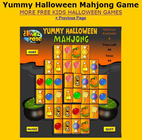 37 FreeHalloween Games for Kids