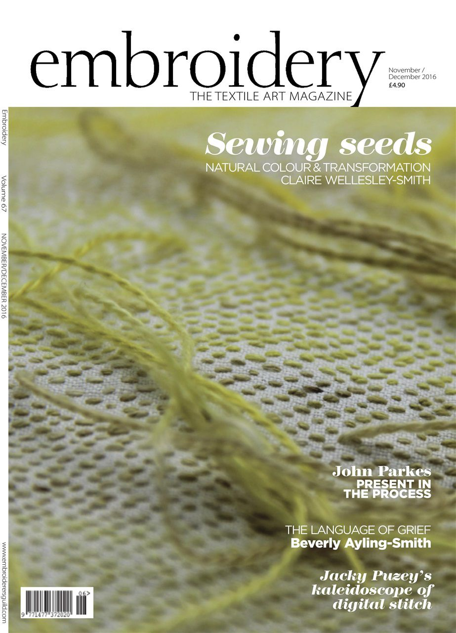 Embroidery - The Textile Art Magazine