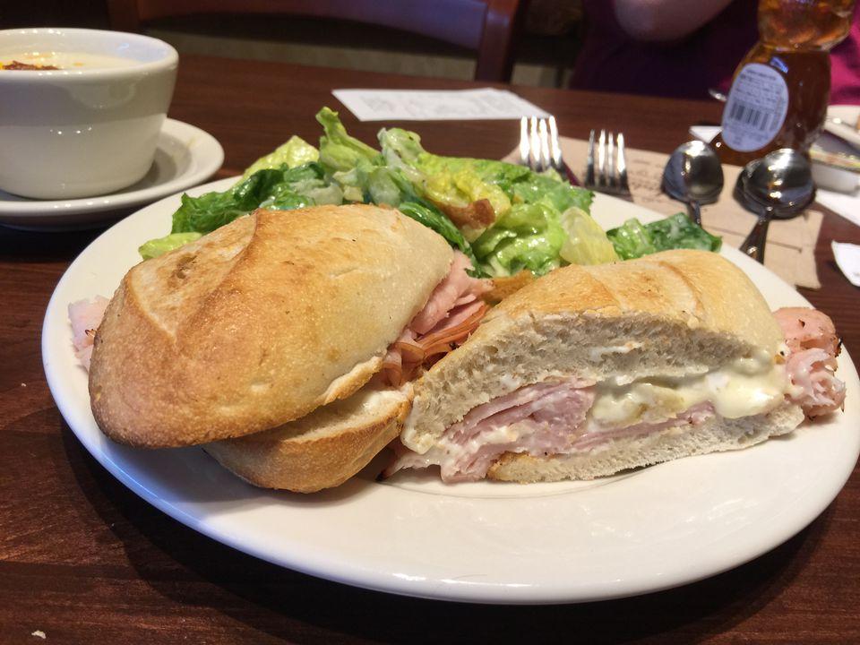 La Madeleine Turkey and Brie Sandwich