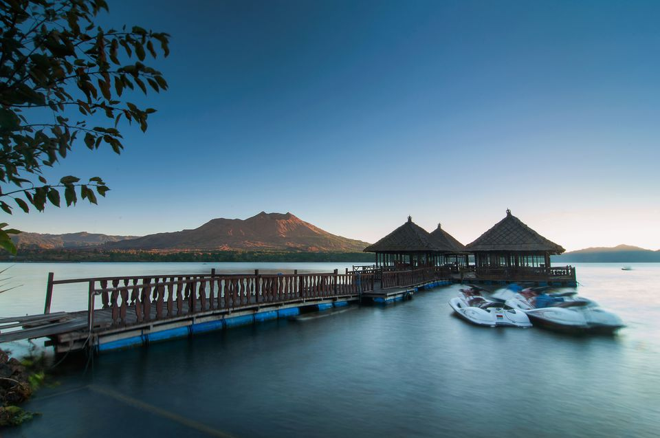 Sunrise over Lake Batur, Kintamani, Bali