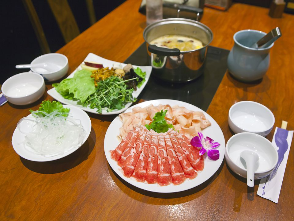 Mongolian hot pot for two (Shoot Brief #11)