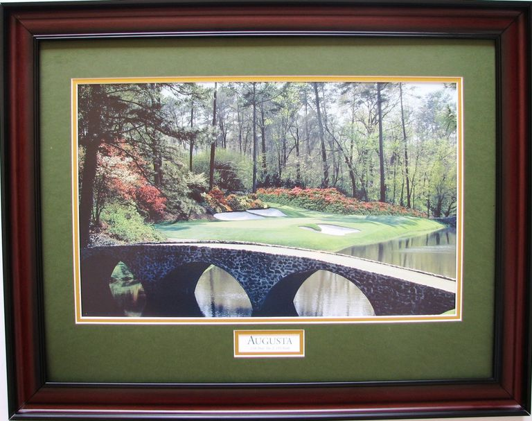 Framed print of Augusta National Golf Club