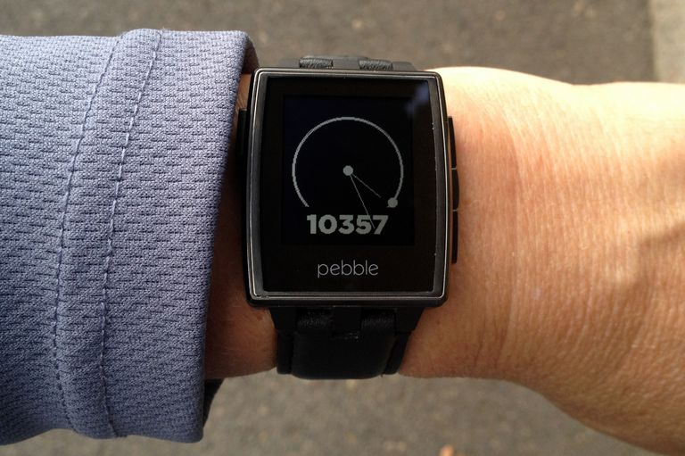 Pebble Smart Watch with UP Watch Face