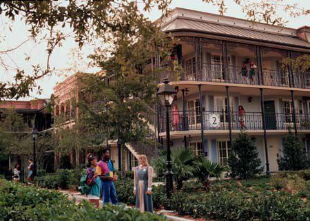 Disney's Moderate Resorts - Port Orleans French Quarter