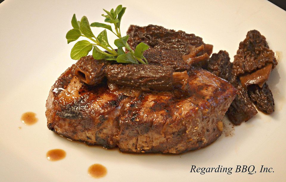 Filet Mignon with Ginger and Red Wine