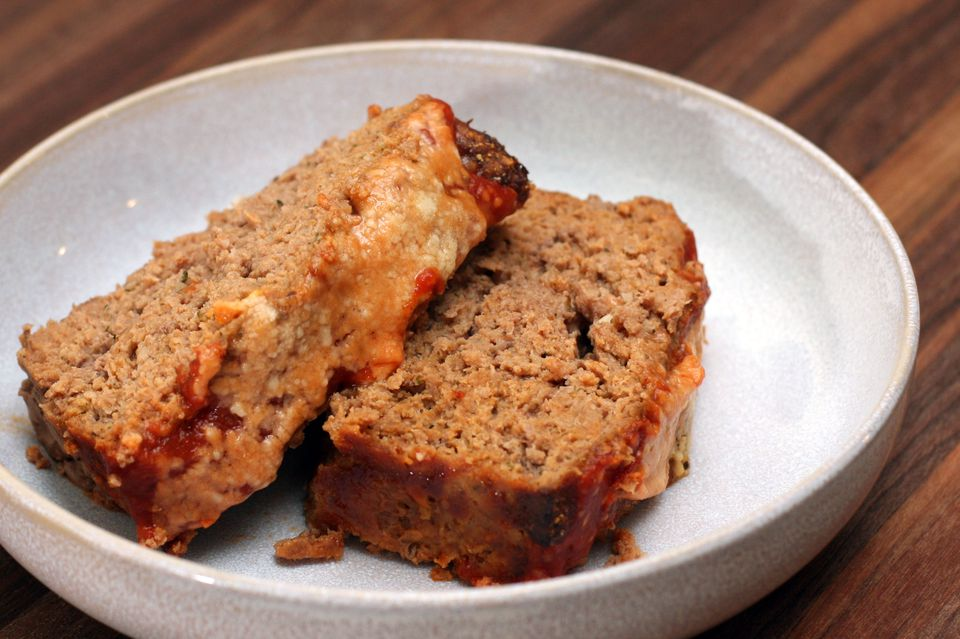 Meatloaf With Parmesan Cheese and Italian Herbs
