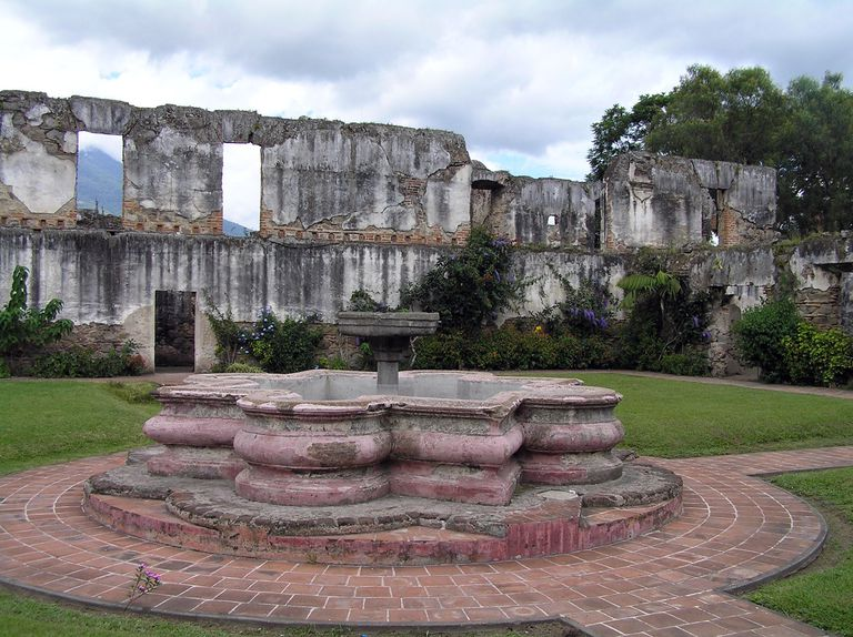 Convent in Colonial Antigua