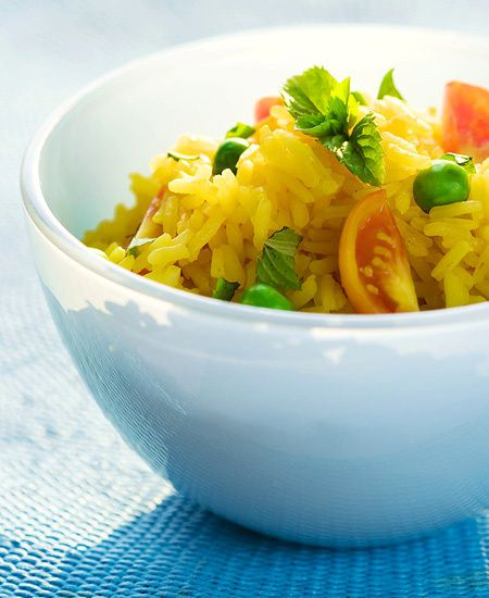 Thai Yellow Rice (Easy!)