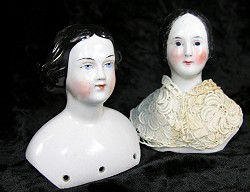 Antique China Doll Heads