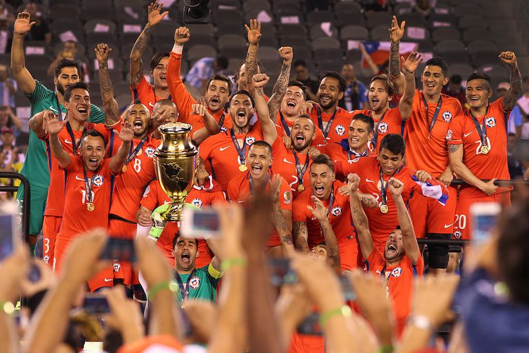 Chile won their 2nd Copa America title in 2016, after defeating Argentina