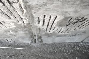 an example of spalled concrete