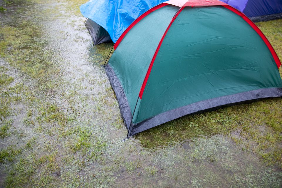 Wet camping
