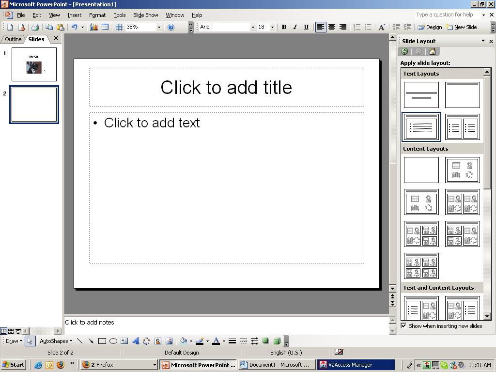 How to create a simple powerpoint presentation alramifo Choice Image