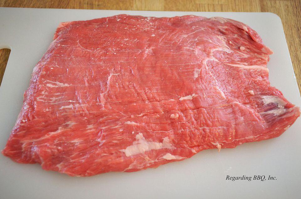Flank Steak Raw