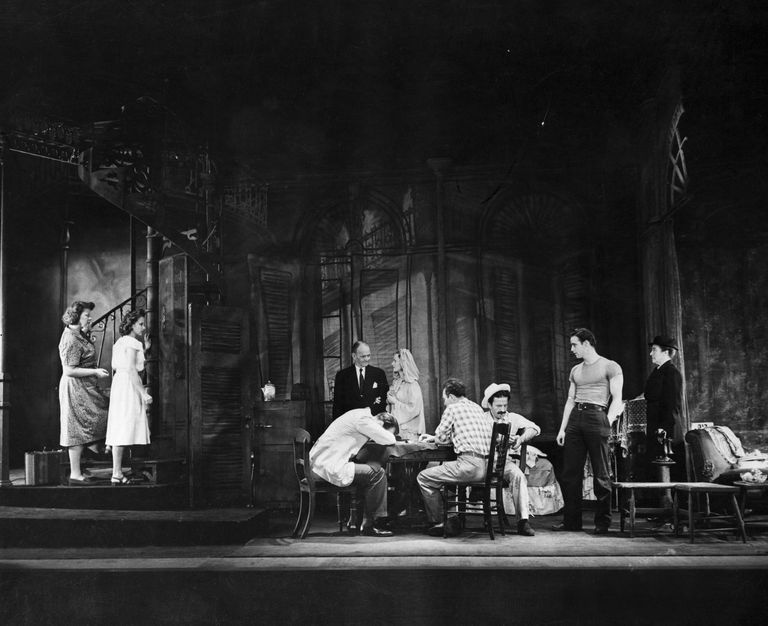 The original production of A Streetcar Named Desire