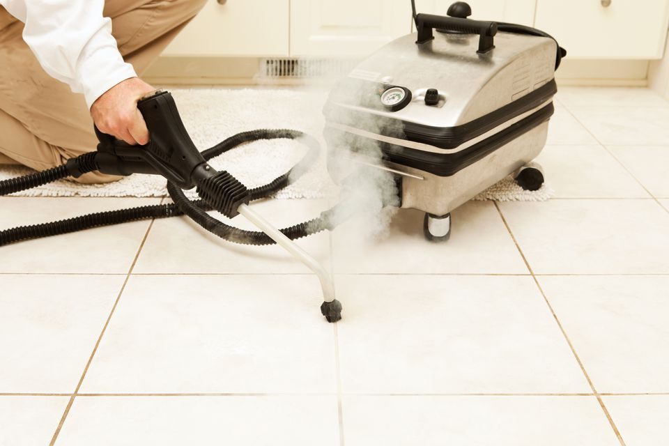 Cleaning Tile Grout With Steam