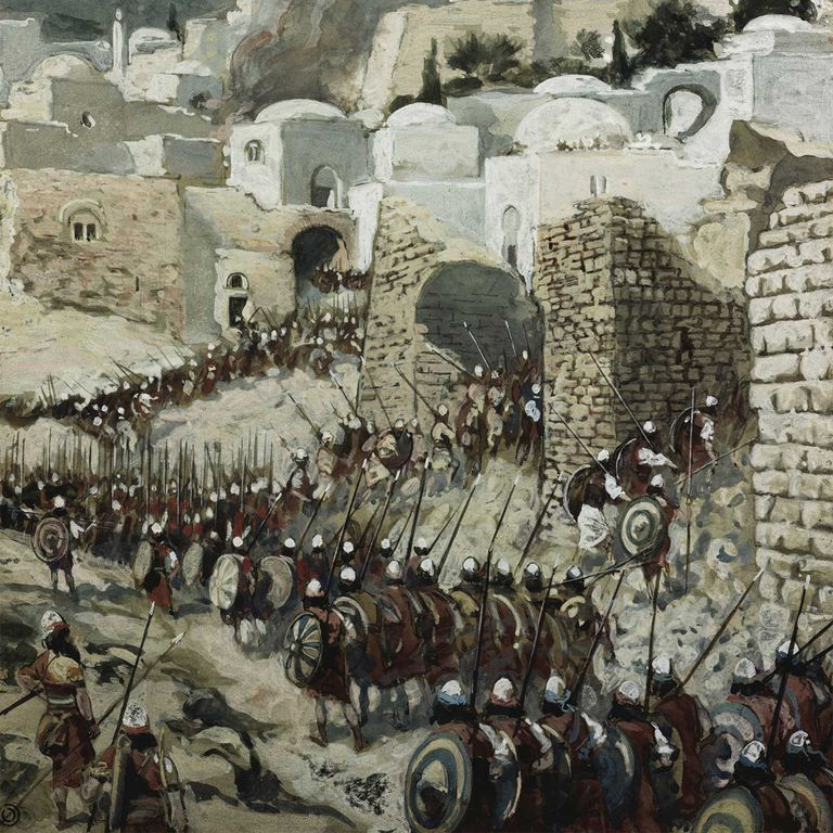 Taking of Jericho by Tissot