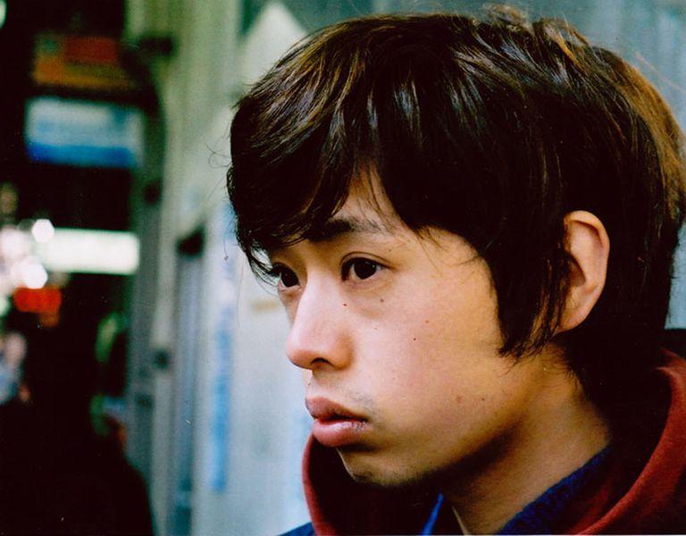 upset young asian man