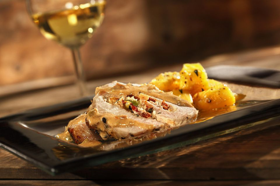 Slow Cooker Pork Roast with Squash