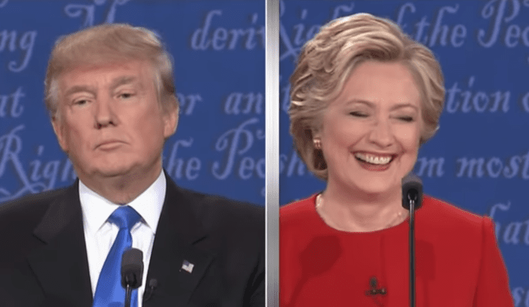 Trump Clinton debate bad lip reading