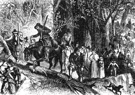 Connecticut Colony - Thomas Hooker's Emigration