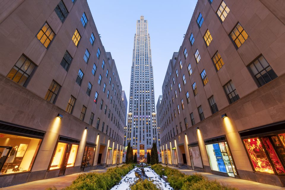 Rockefeller Center, New York City, America
