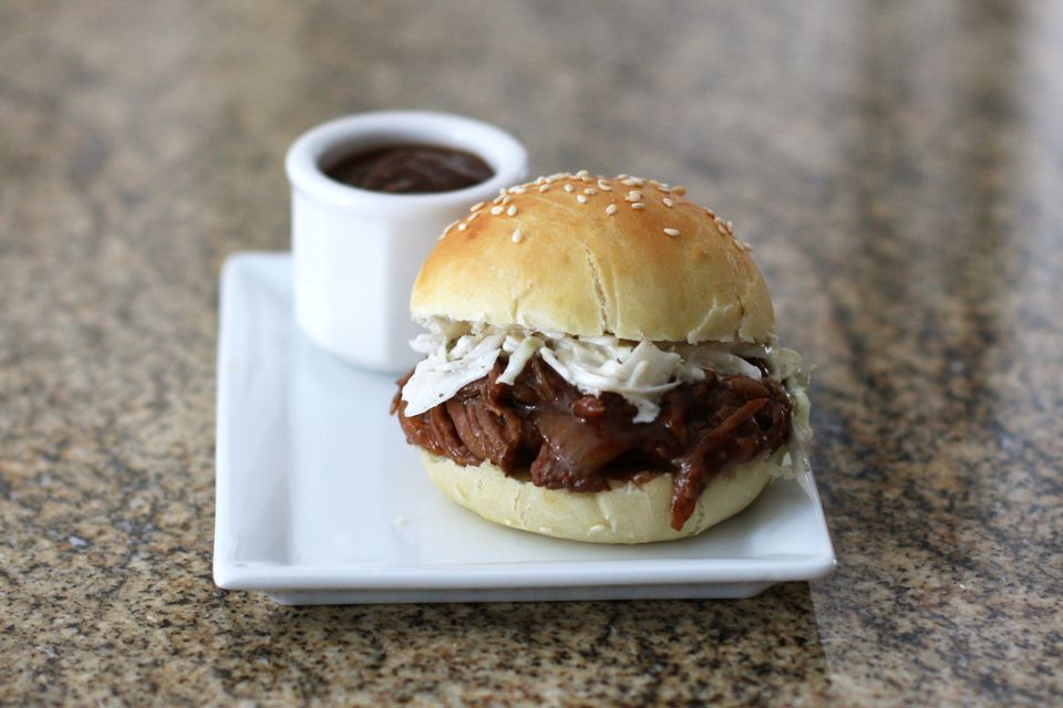 Barbecue Beef on a Bun