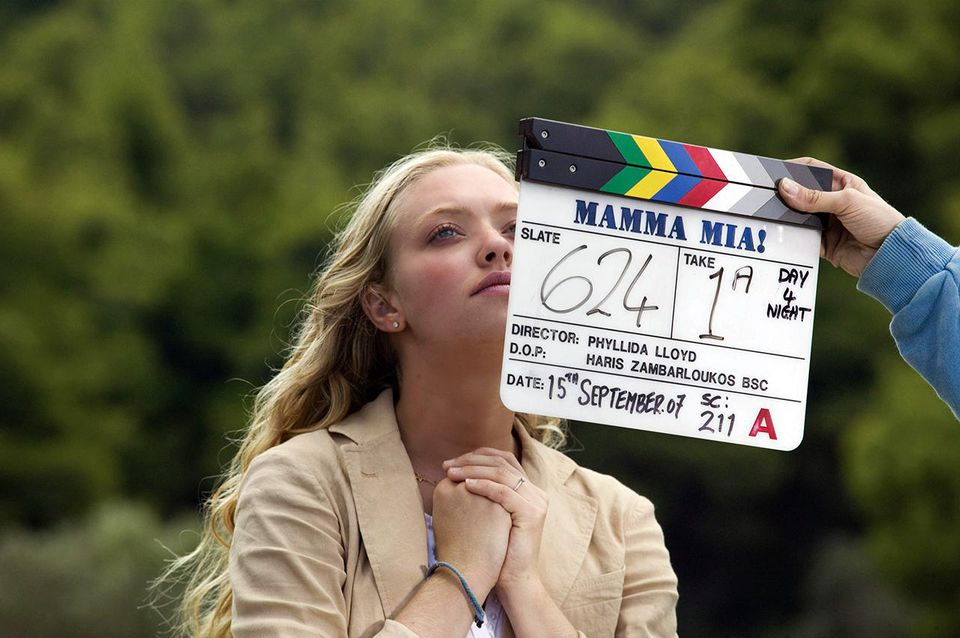 Amanda Seyfried portrays Sophie in the movie