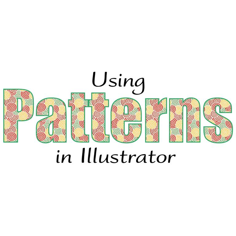 Using Patterns in Illustrator