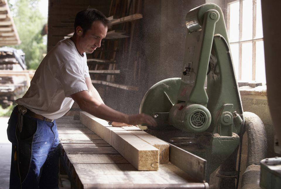 Cutting Surfaced Lumber