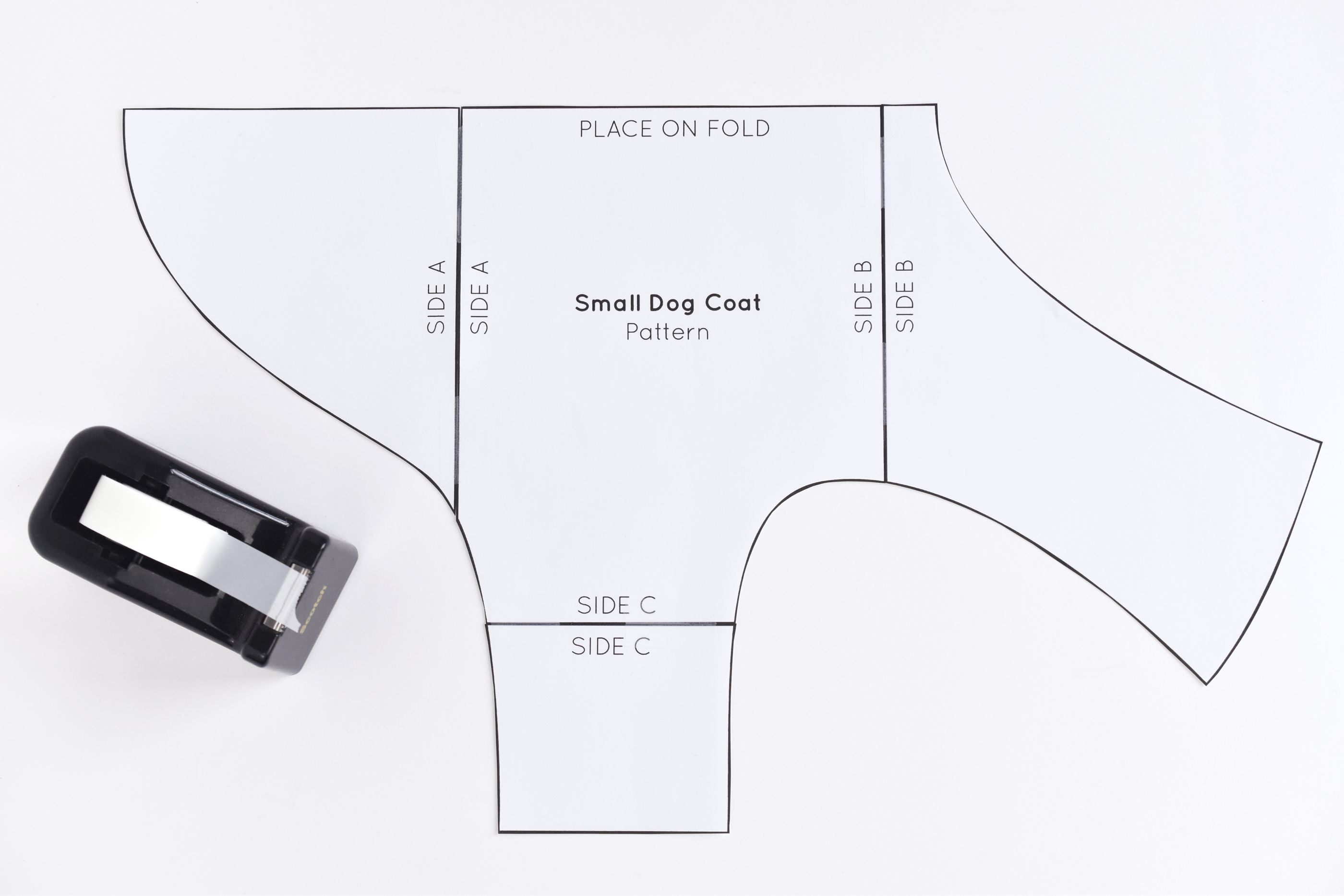 Free sewing pattern for a warm weatherproof dog coat jeuxipadfo Image collections