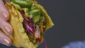 Southern Bbq Meets Mexican In These Pulled Pork Cornbread Tacos