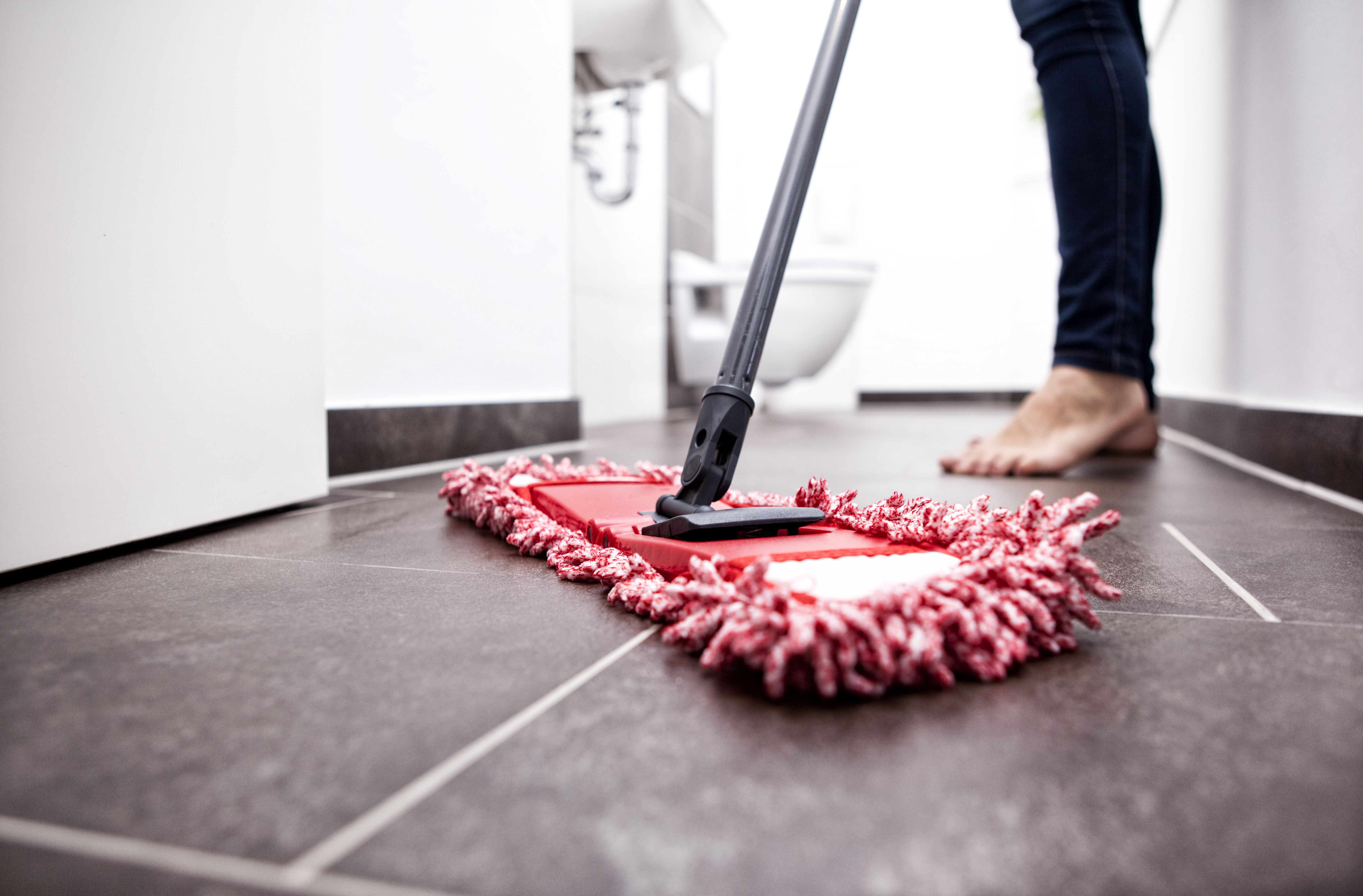 Porcelain floor tiles types maintenance and cleaning care cleaning self adhesive floor tiles vinyl cork linoleum and rubber dailygadgetfo Gallery