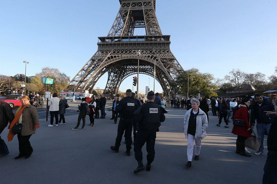 Eiffel Tower Security