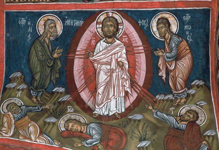 The Transfiguration of Christ, 12th century.