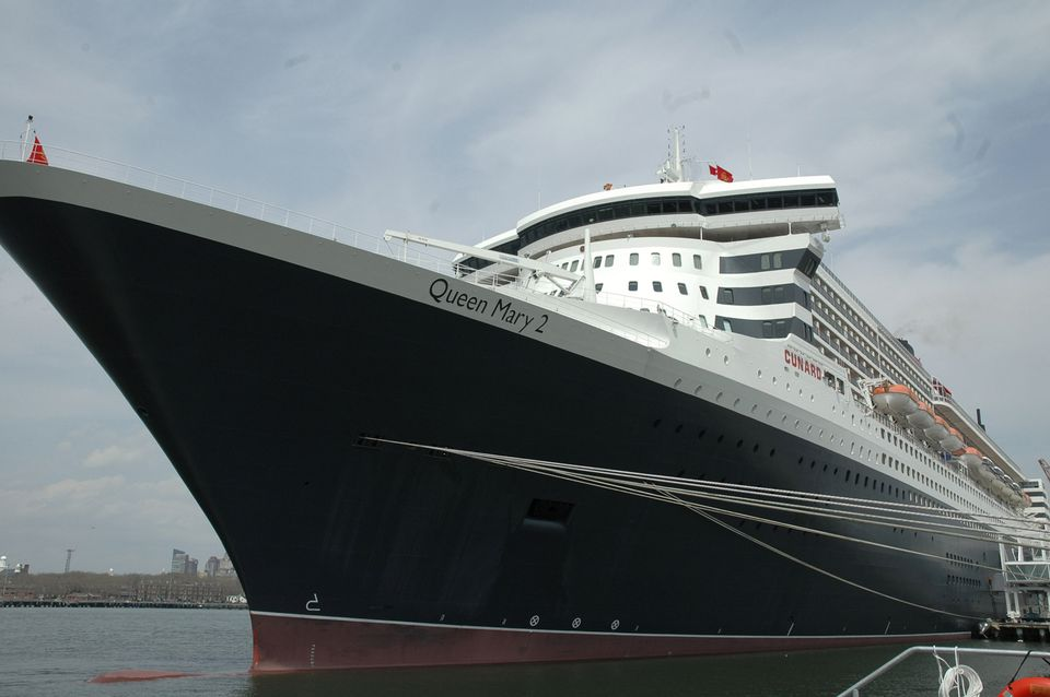 Queen Mary 2 Docks as First Ship at Brooklyn Cruise Terminal
