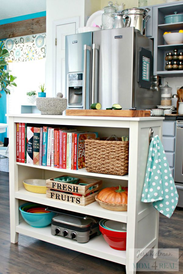 10 Stylish Ways To Display Cookbooks In The Kitchen