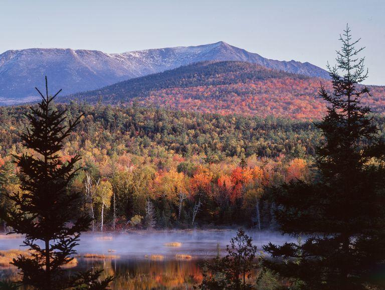 Baxter State Park, Maine-2, Mount Katahdin