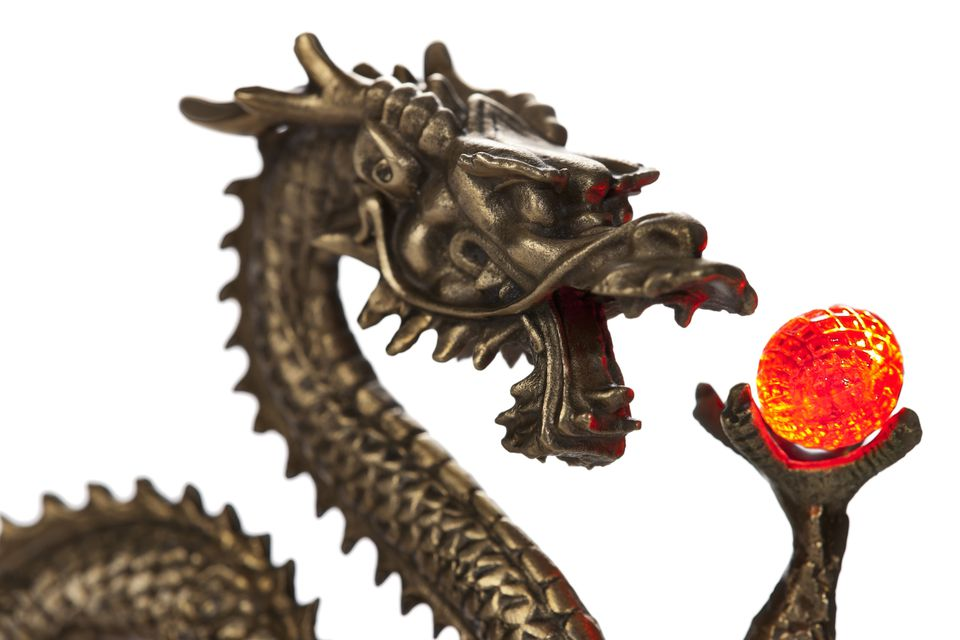 feng shui dragon symbol